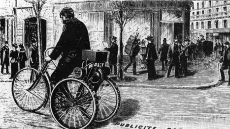 This Tricycle Printing Press Was the Hot New Advertising Stunt of 1895 | Ads - Media | Scoop.it