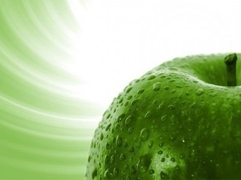Green apples PPT Backgrounds | Free PowerPoint Backgrounds | Scoop.it