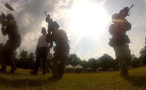 The 1st Battalion, 155th Infantry Regiment Soldiers fire M4 rifles during Advanced Marksmanship training at the Camp Shelby Joint Forces Training Center   Military Videos   Scoop.it