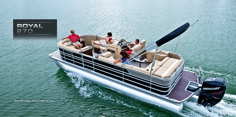 Royal 270: Harris FloteBote Pontoon Boat | Family Pontoon Boats | Pontoon Party Boat : 2014 | Pontoon Boats | Scoop.it