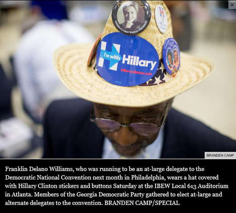 """""""Georgia Democrats choose delegates to national convention"""" 