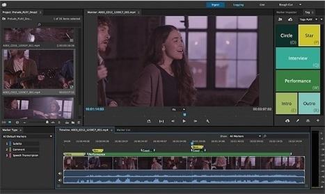 Adobe améliore ses applications audio et vidéo - MacGeneration   Divers Programmes Mac   Scoop.it