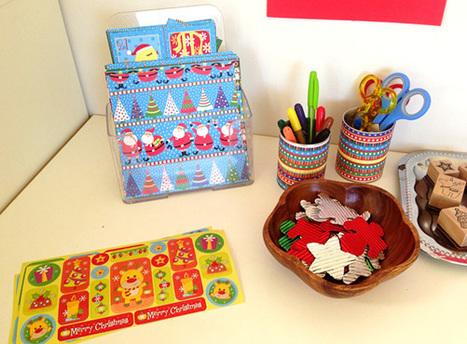 Our Play Space: Christmas Card Making Station | Tutto: Primary | Scoop.it