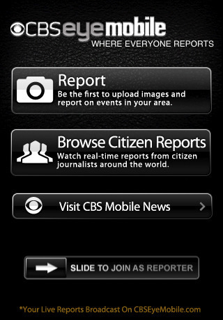 CBS EyeMobile | Mobile Journalism Apps | Scoop.it