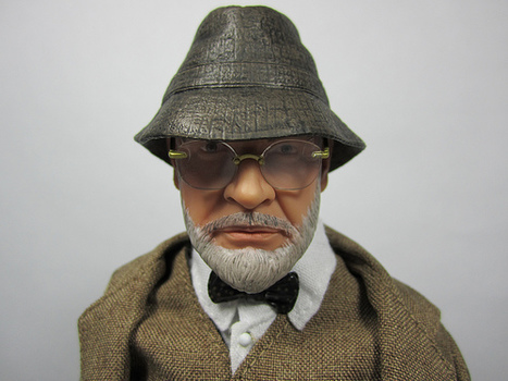 Fortress of Testicular Fortitude: 1:6 Sideshow Dr Henry Jones Senior | Playscale Picks | Scoop.it