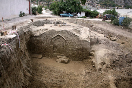 Byzantine Chapel found beneath Turkish river mud | Archaeology News | Scoop.it