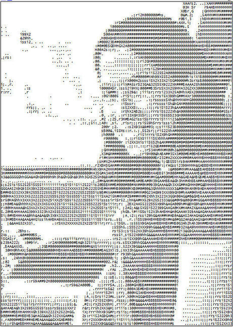 ASCII Art: Turn Your Photos Into Text Pictures | ASCII Art | Scoop.it