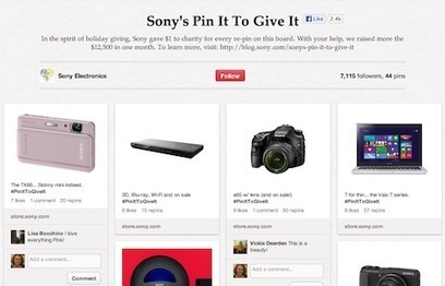 3 Creative Ways Brands Are Using Pinterest | Social Media Examiner | Teohnology | Scoop.it