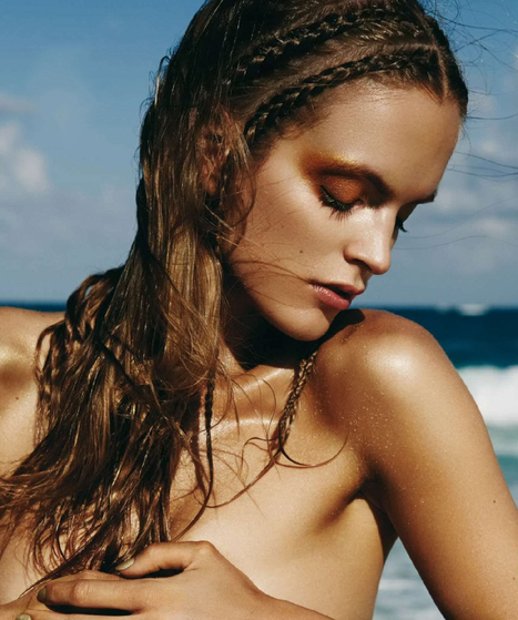 [editorial] 'Musa de Saint-Tropez' | Mirte Maas shot by David Roemer for Harper's Bazaar Spain July/August 2014 | Fashion & more... | Scoop.it