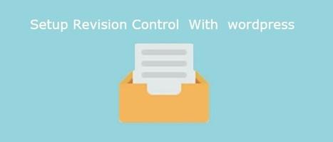 How to setup version control in your wordpress website | Web tutorials | Scoop.it