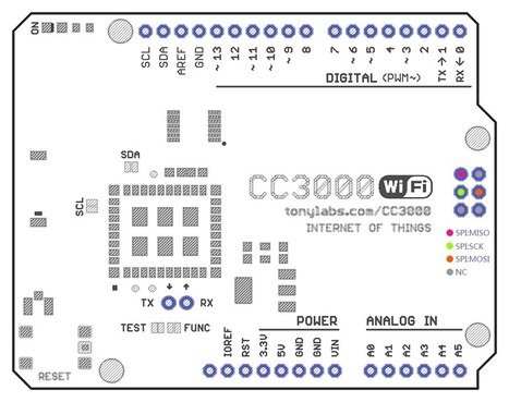 Arduino WIFI Shield India: CC3000 WiFi Shield for Arduino R3. The Arduino wifi shield connect own your arduino to the internet wireless. - Robomart | Raspberry Pi | Scoop.it