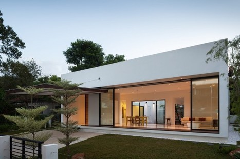 Mandai Courtyard House / Atelier M+A | Idées d'Architecture | Scoop.it