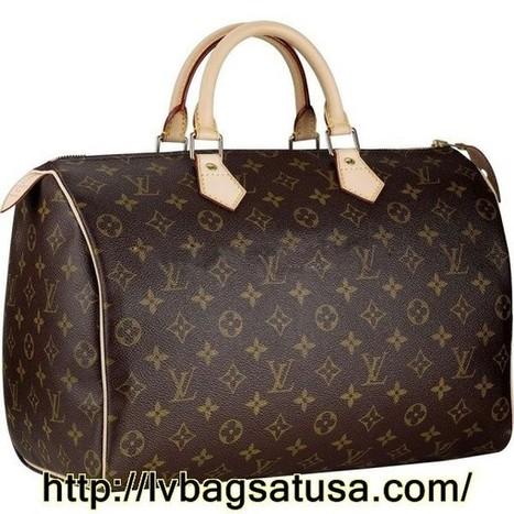 Louis Vuitton Speedy 35 Monogram Canvas M41524 Handbags | Louis Vuitton Outlet Online Sale_lvbagsatusa.com | Scoop.it