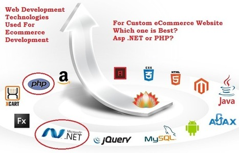 Which is the best technology to develop custom eCommerce site, Asp .net or PHP? - Squarespace Answers | Amazon Webstore Design and Development | Scoop.it