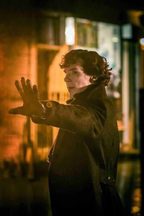 Help Cumberbatch BBC Sherlock solve 10 new mysteries on this mobile app. From @wearetpf | Pervasive Entertainment Times | Scoop.it