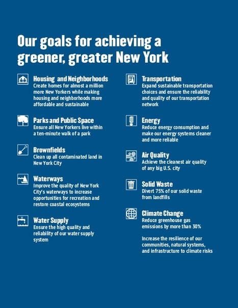 PlaNYC: A Greener, Greater New York | New York City Environmental Sustainability | Scoop.it