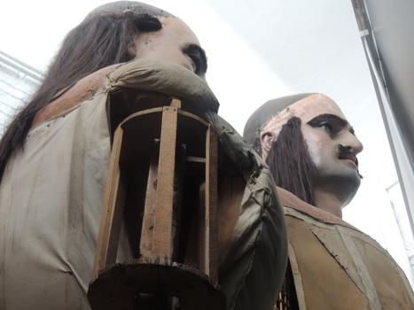 Els Gegants Moros de Verderol, darrere d'una cortina | Apunts de Salvador Guinart | Scoop.it