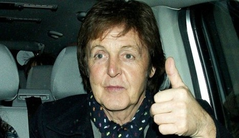 Paul McCartney : un nom et un extrait - Les Inrocks | Bruce Springsteen | Scoop.it