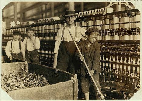 20 photographies édifiantes sur les conditions de travail des enfants au début du XXème siècle | La Longue-vue | Scoop.it