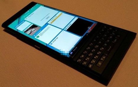 BlackBerry Venice pictured from all angles, spec sheet starts to take shape | TCA Wireless Blog | Technology | Scoop.it