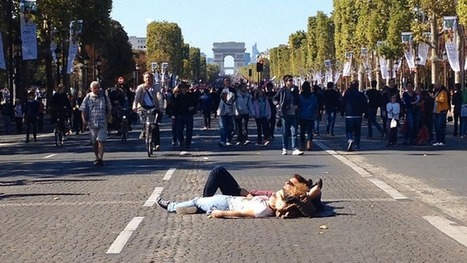 What the city of Paris looks like without cars   Nerd Vittles Daily Dump   Scoop.it