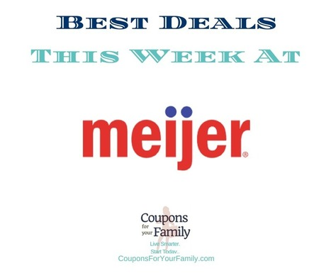 Meijer Ad and Meijer Coupons Dec 4-10:  FREE Sesmark Crackers, $0.60 Campbells Soup & more | Grocery List Savings | Scoop.it