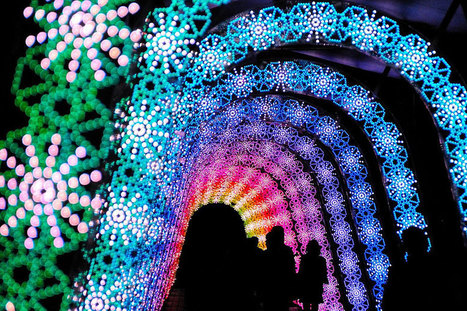 Amazing Light Tunnel Made of Millions of LEDs in Japan | The Blog's Revue by OlivierSC | Scoop.it