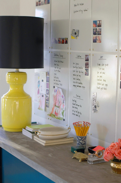 DIY White Board Wall | Modern Home: Green, Clean, and Beautiful | Scoop.it