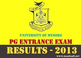 Mysore University PG Entrance Exam 2013 | PGEE 2013 Results at www.uni-mysore.ac.in | Latest Government Jobs In India | AP DSC 2013 Notification for 20508 Teacher posts at www.dseap.gov.in | Scoop.it
