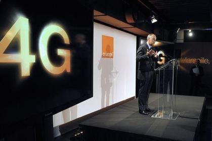 Mobile 4G : Orange donne le coup d'envoi à Paris | 4G | Scoop.it
