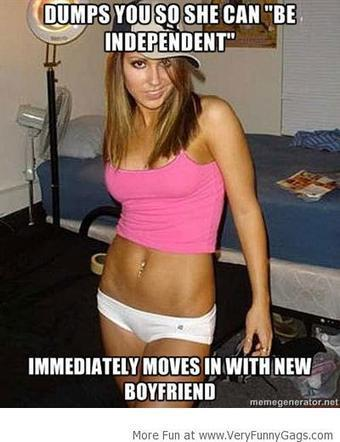 Douchebag Level : Independent Woman!   Funnygags   Scoop.it