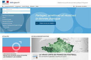 "Jean-Marc Ayrault inaugure la nouvelle version de data.gouv.fr, le ""Wikipedia de l'open data français"" 