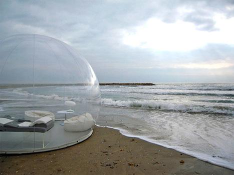 Transparent Bubble Tent Lets You Sleep Underneath The Stars | Ocean City MD & Coastal DE Beach Real Estate - ShoreFun4U - BeachHomes4Sale & Rent - Susan Antigone - 'Sun, Sea, Style' | Scoop.it