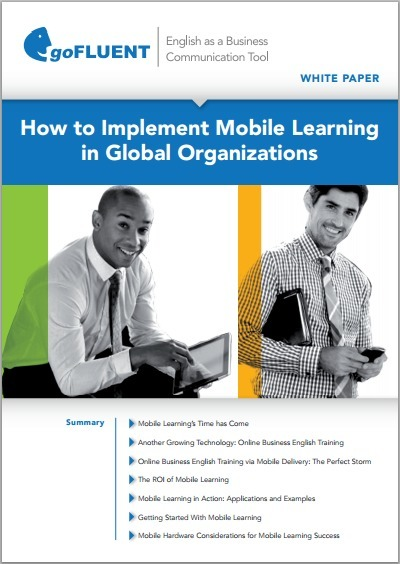 Livre blanc : Intérêt et efficacité du mobile Learning | Time to Learn | Scoop.it