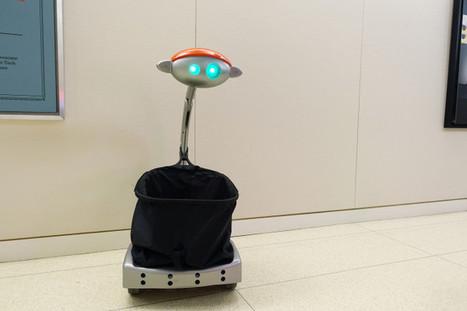 Next Big Trend: Robots That Follow You Around   Robolution Capital   Scoop.it