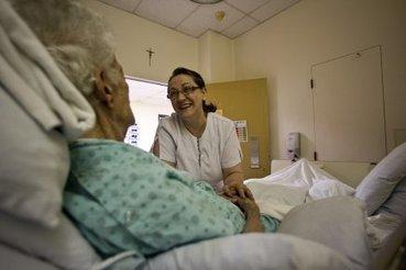 Massothérapie en soins palliatifs: partir entre de bonnes mains | Anabelle Nicoud | Santé | Convergence Soignants Soignés | Scoop.it