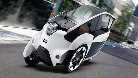 Is Toyota's Tron Lightcycle-Like I-Road The Future Of Urban Car Sharing? | M A G | Scoop.it