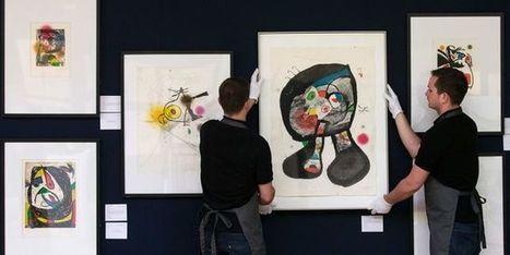 Le petit-fils de Miró vend 28 de ses œuvres aux enchères pour aider les migrants | Clic France | Scoop.it