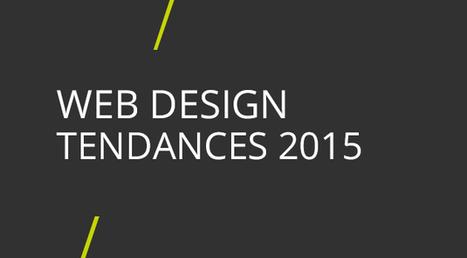 Webdesign : tendances 2015   Web & Com   Scoop.it