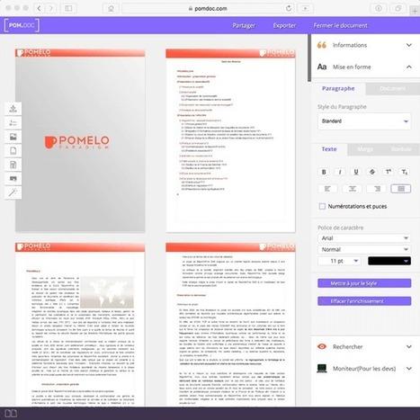 PomDoc. Travailler un texte à plusieurs mains – Les Outils Tice | Les outils du Web 2.0 | Scoop.it
