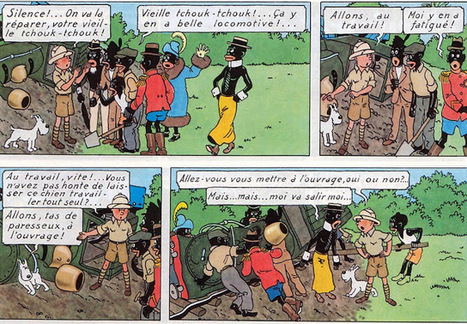 Tindomerel: Tintin au Congo | A propos de la bande dessinée | Scoop.it