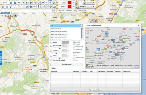 Geoinformación: aprovechando Google Maps para crear mapas personalizados | Natalia Encina | Scoop.it