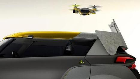 Renault Concept Car With Built-In Multicopter | UAV | Scoop.it
