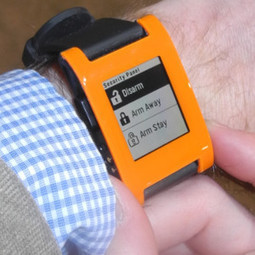 Alarm.com Shows Home Automation on Pebble Smart Watch - Julie Jacobson, CE Pro | Smart Homes & Home Automation | Scoop.it