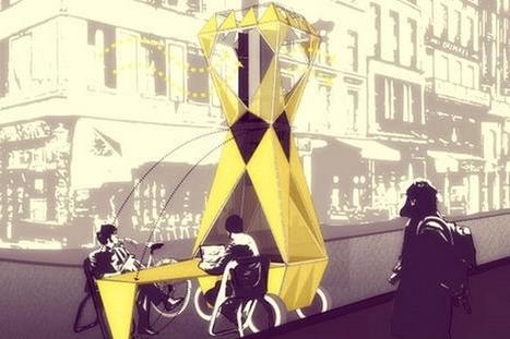 Le projet Matrioshka : faire du coworking dans la rue | Economie de l'innovation | Scoop.it