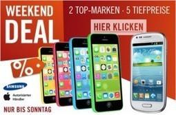 iPhone 5s & iPhone 5c billiger!   iPhone News   Scoop.it