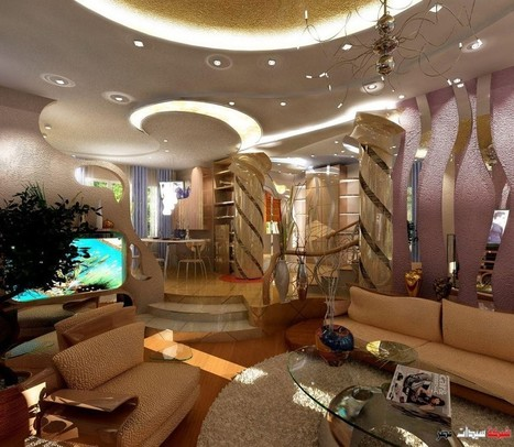 Luxury Modern POP Ceiling Interior Decorations Ideas Pictures for Stylish   This For All   Home Design From Interior PIN   Scoop.it