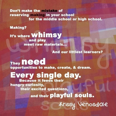 Whimsy - @KrissyVenosdale #makered #making | iPads, MakerEd and More  in Education | Scoop.it
