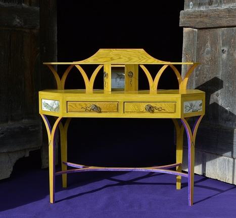 Du mobilier d'art inspiré d'Alice aux pays des merveilles...   Mobilier d'exception   Scoop.it