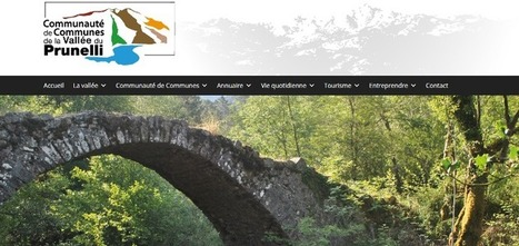 Refonte du site Internet | Vallée du Prunelli | Communication #Web & Réseaux Sociaux | Scoop.it